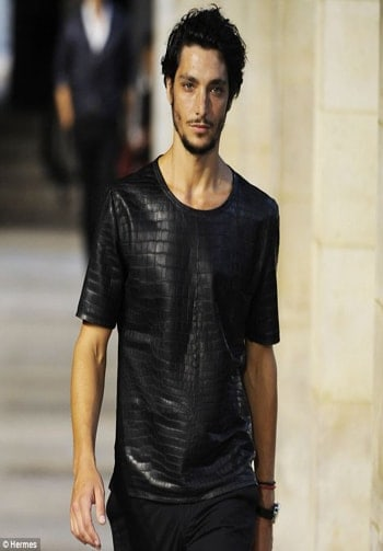 Herms crocodile tshirt - One of the most expensive tshirt that are ever sold