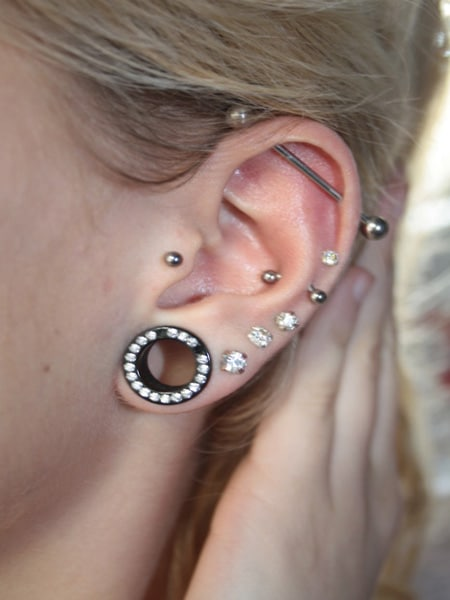 50 Unusually Cute Ear Piercings For Every Fashionista Ear Piercings