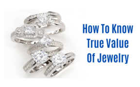 how to know true value of jewelry