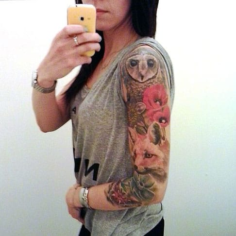 35 Best Tattoo Sleeve Ideas For Women That Will Boggle Your Mind