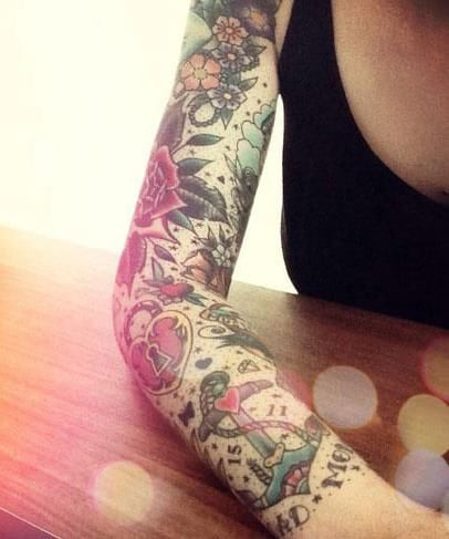 tattoo-sleeve-ideas-for-women-6