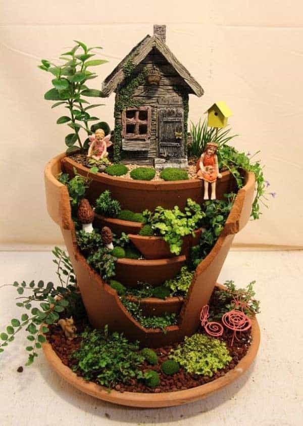 25 Best Miniature Fairy Garden Ideas To Beautify Your