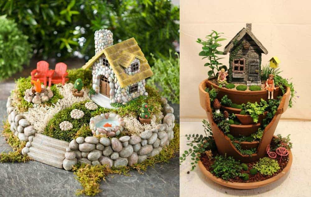 Ideas For Fairy Gardens mini fairy garden ideas 25 Best Miniature Fairy Garden Ideas To Beautify Your Backyard