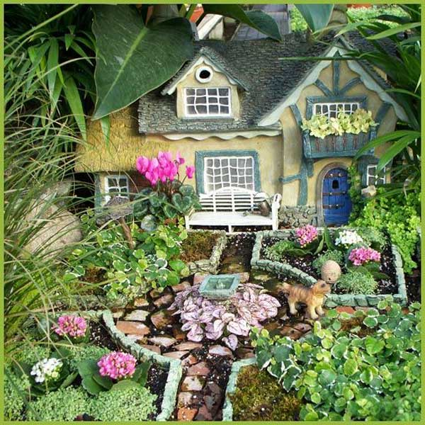 Miniature Fairy Garden Ideas best 25 miniature fairy gardens ideas on pinterest 25 Best Miniature Fairy Garden Ideas To Beautify Your Backyard
