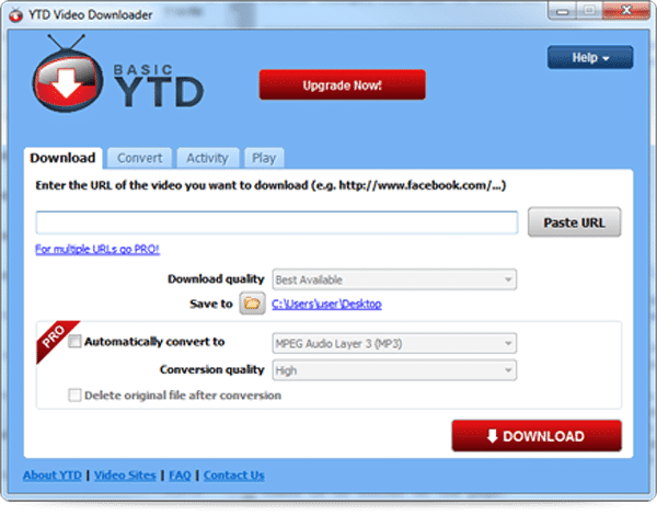 Ytd downloader - youtube downloader