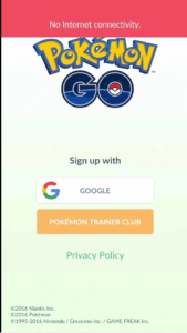Authenticate Error Fix Pokemon Go