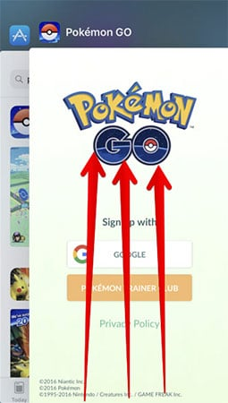 pokemon go unable to authenticate