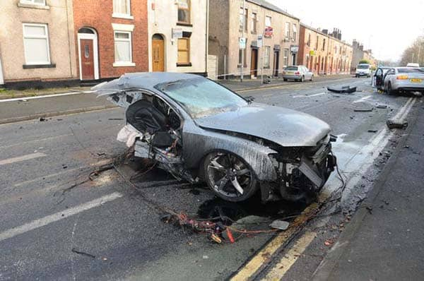 audi a6 snap chat killer accident manchester