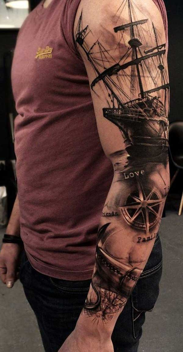 Tattoo Ideas Men Sleeve: 10 Most Mesmerizing Tattoo Sleeve Ideas For Men