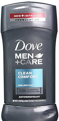Dove Men+Care Antiperspirant Deodorant Clean Comfort 2.7 Oz