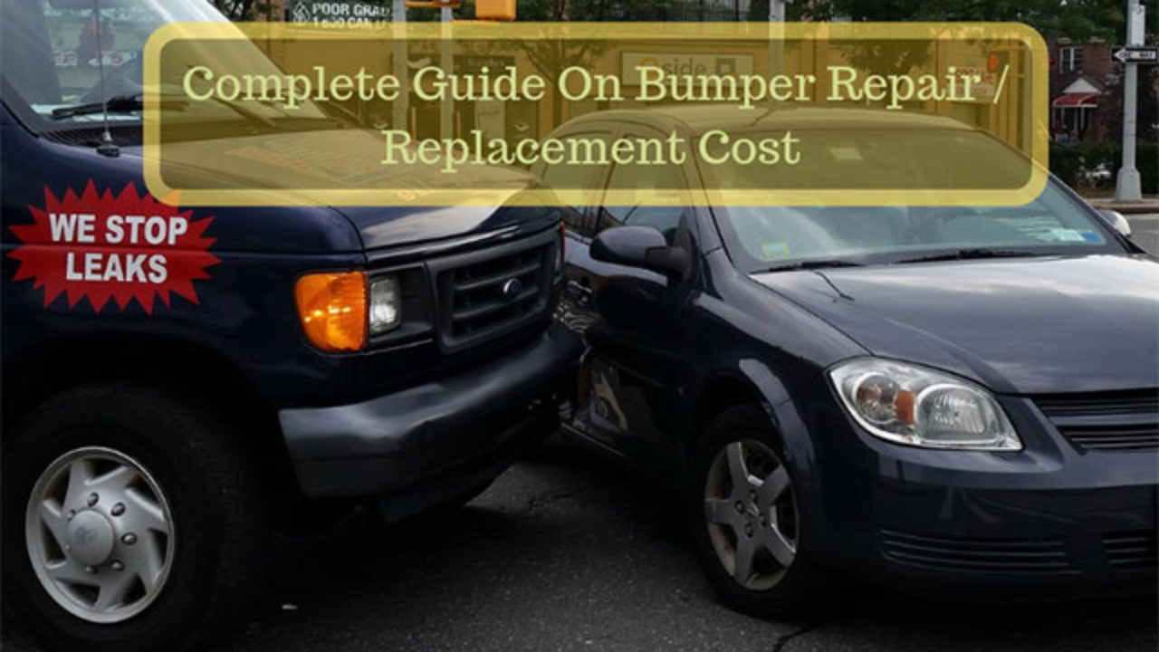 Complete Guide On The Bumper Repair/ Replacement Cost